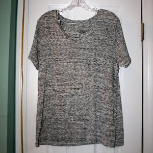 Buy 3, Get 1 FREE! Womens T shirt- black and white